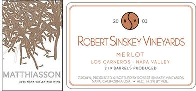 Matthiasson + Sinskey Winemaker Dinner at L'Apicio