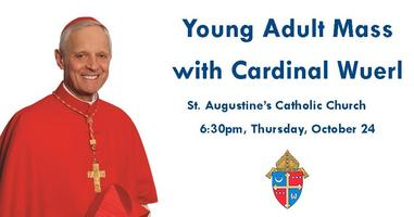 Young Adult Mass with Cardinal Wuerl + After-Party!