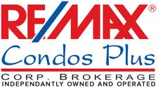 RE/MAX Condos Plus Corp. Brokerage logo