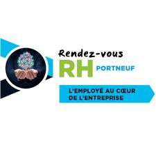 Sandra Godin, coordonnatrice du Rendez-vous RH Portneuf logo