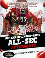 THIS SATURDAY!! SEC CHAMPIONSHIP AFTERPARTY @ HARLEM...