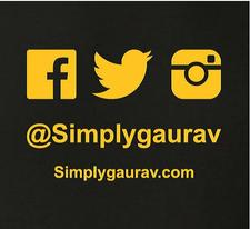SimplyGaurav Events logo