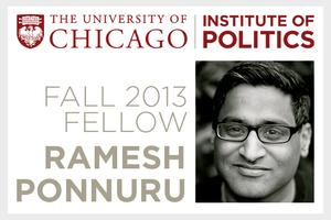 "Fellows Seminars | Ramesh Ponnuru: ""Rebuilding the..."