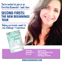 Second Firsts: The New Beginnings Book Tour IN SAN...