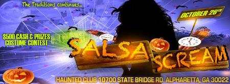"Halloween ""SALSA SCREAM"" Salsa and Bachata Party!"