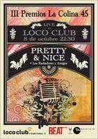 Los Radiadores en Loco Club, Fiesta III Premios La...