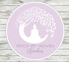 Patch of Heaven Gardens & Cao Chocolates logo