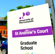 The Graduate School - University of Portsmouth logo