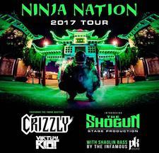 Datsik - Ninja Nation Tour 2017 logo