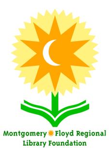 Montgomery Floyd Regional Library Foundation logo