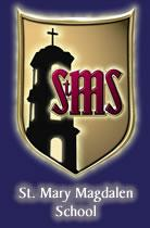 Sponsored by St. Mary Magdalen School logo