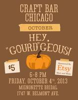 Etsy Meet & Make and Craft Bar Chicago present: Hey...