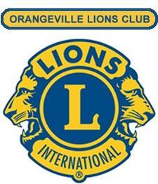 Orangeville Lions Club logo