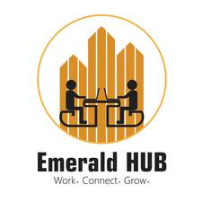 Emerald HUB Coworking and Startup Office Space logo