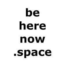 beherenow.space logo