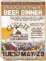 Cúrate/Thirsty Monk Progressive Beer Dinner: THIRSTY...