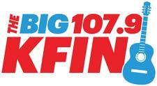 The Big 107.9 KFIN logo