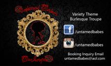 Untamed Babes Burlesque  logo