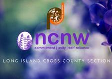 National Council of Negro Women, Inc. ~ Long Island Cross County Section logo