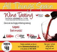 All Things Spain  - Wine Tasting