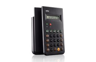 Win a Braun ET66 calculator by Dieter Rams with the...