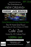 Entertainers of New Orleans Sunday Jazz Brunch