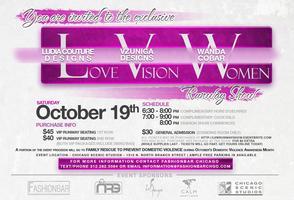 FashionBar Chicago presents Love, Vision and Women...