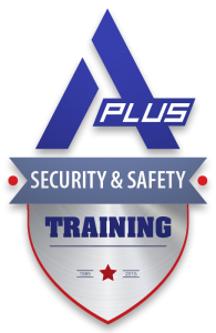 A Plus Security and Safety Training logo