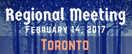 Toronto Winter Regional Meeting