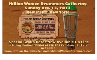 Million Women Drummers Gathering *New Paltz, NY *...