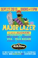 Major Lazer @ BB Kings in Times Square