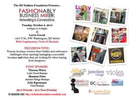 Fashionably Business Mixer: Networking & Conversations