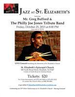 JAZZ AT ST. ELIZABETH'S - October 25, 2013 at 8:00 PM