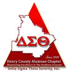 The Henry County Alumnae Chapter of Delta Sigma Theta Sorority, Inc. logo