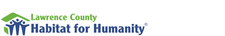 Lawrence County Habitat for Humanity logo