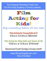 Film Acting for Kids and Young Teens