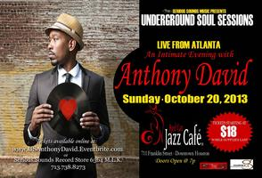 Underground Soul Sessions featuring Anthony David