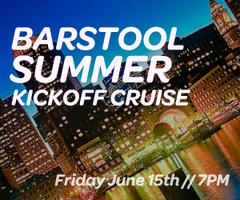 Barstool Summer Kick Off Cruise