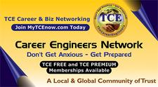 TCE Career & Business Network logo
