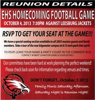 EHS Homecoming Game & Tour