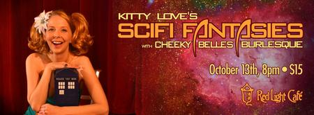 Kitty Love's Sultry Sunday Burlesque — Sci-Fi...