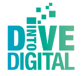 Dive into Digital logo