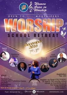 Women Arise in Worship - WAW Ministry logo