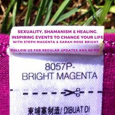 Steph Magenta & Sarah Rose Bright. logo