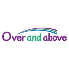 Over and Above,  your local NHS hospital charity logo
