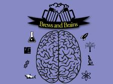 Brews and Brains  logo