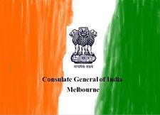 Consulate General of India Melbourne logo