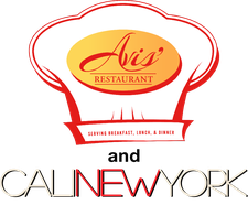 Avis' Restaurant and CaliNewYork logo