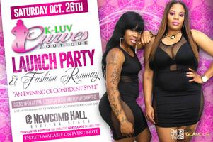 K-Luv Curves Boutique Launch Party and Fashion Runway...