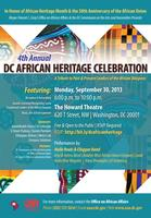 4th Annual D.C. Africa Heritage Celebration